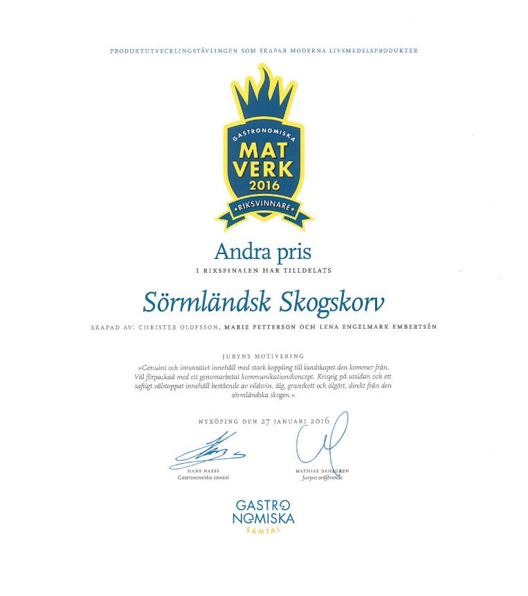 Matverk-2016-2a-pris